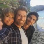 Isabelle Drummond, Cláudia Abreu, Reynaldo Gianecchini e Chay Suede (Foto: Instagram / Reprodução)