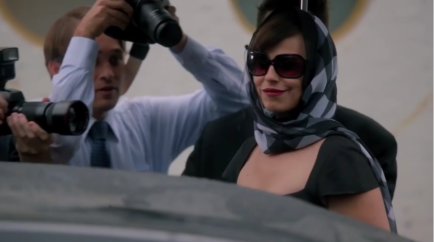 """Daniela Escobar (Bernarda) em cena de """"A Garota da Moto"""" (Foto: Reprodução/SBT)"""