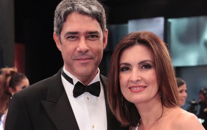 William Bonner e Fátima Bernardes (Foto: Globo/Felipe Monteiro)