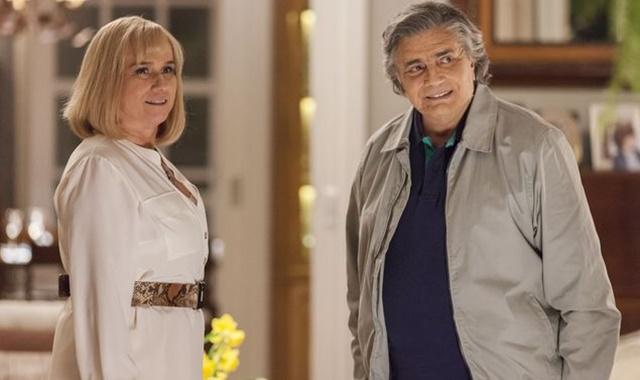 """Mag (Vera Holtz) e Fausto (Tarcísio Meira) em cena de """"A Lei do Amor"""" (Foto: Artur Meninea/Divulgação)"""