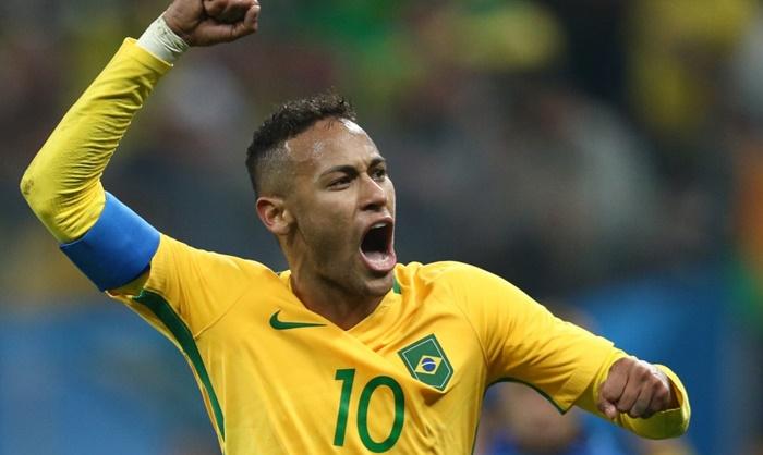 Neymar durante partida entre Brasil e Colômbia (Foto: Lucas Figueiredo/MoWA Press)