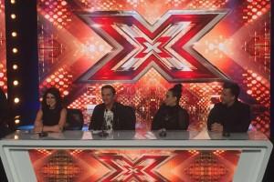 Elenco do The X Factor na coletiva de imprensa de lançamento do programa (Foto: TV FOCO/Fernando Aumada)