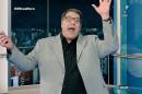 """Luciano Faccioli no comando do """"Olha a Hora"""", na RedeTV! (Foto: Reprodução/RedeTV!)"""