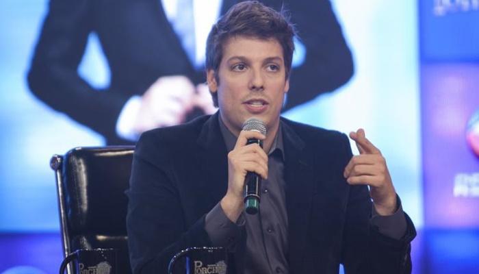 Fábio Porchat no lançamento de seu talk show na Record (Foto: Edu Moraes/Record)