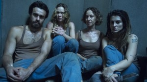 Sérgio (Erom Cordeiro), Bruna (Mariana Ximenes), Diana (Fabiana Gugli) e Sabrina (Cléo Pires) (Foto: Globo/Estevam Avellar)