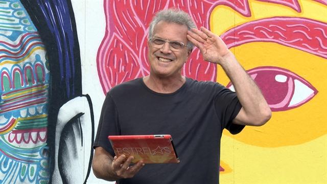 """Pedro Bial durante participação no """"Estrelas"""" (Foto: Globo/Divulgação)"""