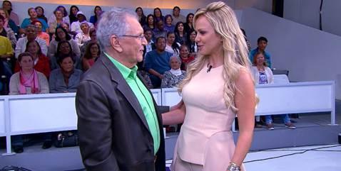 Carlos Alberto de Nóbrega e Eliana.