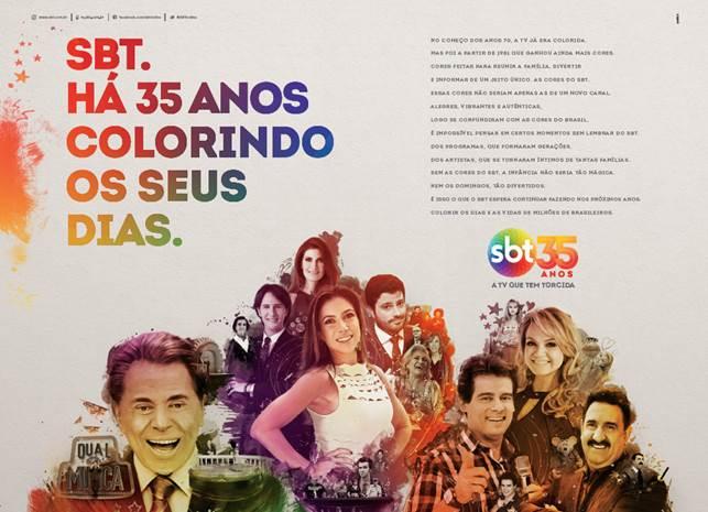 Nova campanha do SBT (Foto: Divulgação/SBT)