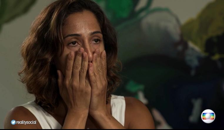 """Camila Pitanga no """"Fantástico"""" (Foto divulgação)"""
