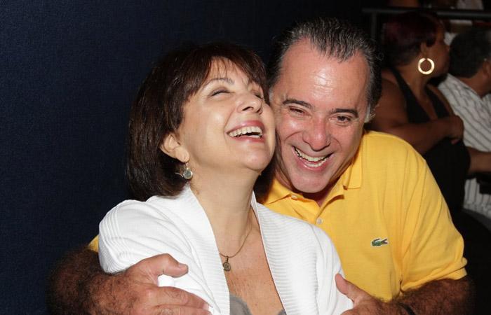 Tony Ramos e Lidiane (Foto: Divulgação)