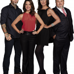Henrique Fogaça, Ana Paula Padrão, Paola Carosella e Erick Jacquin