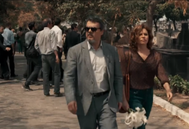 """Heitor (Cássio Gabus Mendes) e Elisa (Débora Bloch) em cena de """"Justiça"""" (Foto: Reprodução/Globo)"""