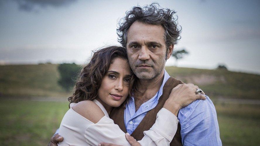 Camila Pitanga e Domingos Montagner (Foto: Divulgação/TV Globo)