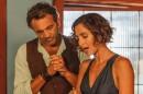 """Domingos e Camila Pitanga nas gravações de """"Velho Chico"""" (Foto: Divulgação)"""