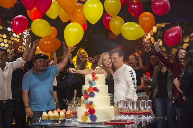 Huck' preparam festa surpresa para Luciano Huck(Foto GloboMauricio