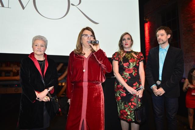 Maria Adelaide Amaral, Denise Saraceni, Nathalia Grimberg e Vincent Villari (Foto: Globo/João Miguel Junior)