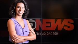 Aline Midlej é um dos destaques da GloboNews (foto: Ramón Vasconcellos/TV Globo)