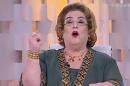"""Mamma Bruschetta no comando do """"Fofocando"""", ontem (07) (Foto: Reprodução/SBT)"""