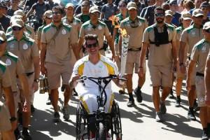 A tocha olímpica (Foto: Divulgação)