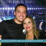 Wesley Safadão e Dona Bill, sua mãe (Foto: TV Globo)