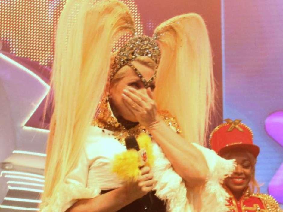 Xuxa se emocionou durante a festa 'Xuchá', no Vivo Rio, na noite deste sábado, 22 de outubro de 2016 Foto: AGNews, Wallace Barbosa / PurePeople