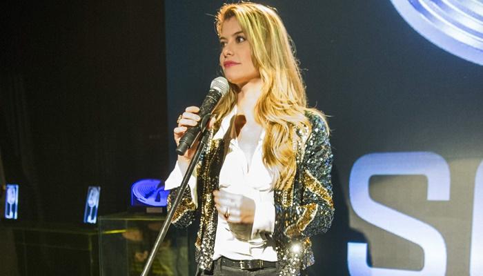 """Diana (Alinne Moraes) em """"Rock Story"""" (Foto: Globo/João Miguel Júnior)"""