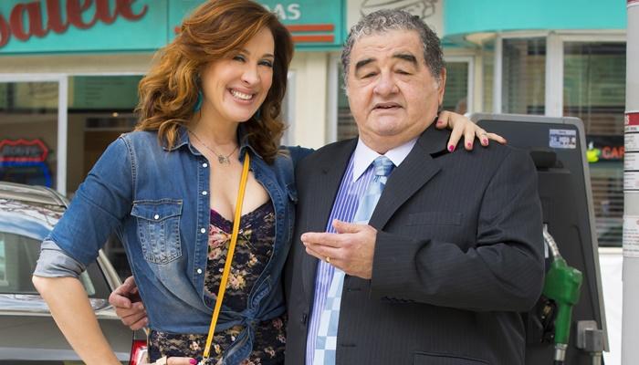 Salete (Claudia Raia) e Venturini (Otávio Augusto) (Foto: Globo/Cesar Alves)