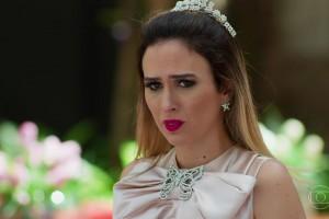 """Fedora (Tatá Werneck) em cena de """"Haja Coração"""" (Foto: Reprodução/Globo)"""