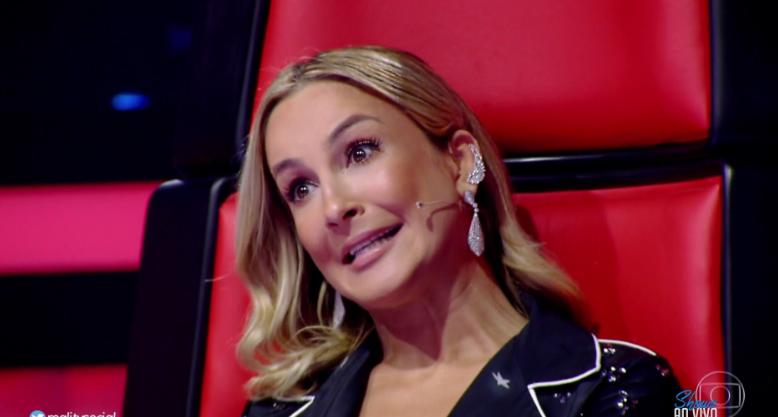 """Claudia Leitte no """"The Voice Brasil"""" (Foto: Reprodução/Globo)"""