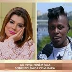 """Mara ouviu direito de resposta da cantora Neném durante o programa """"Fofocando"""" (Foto divulgação)"""