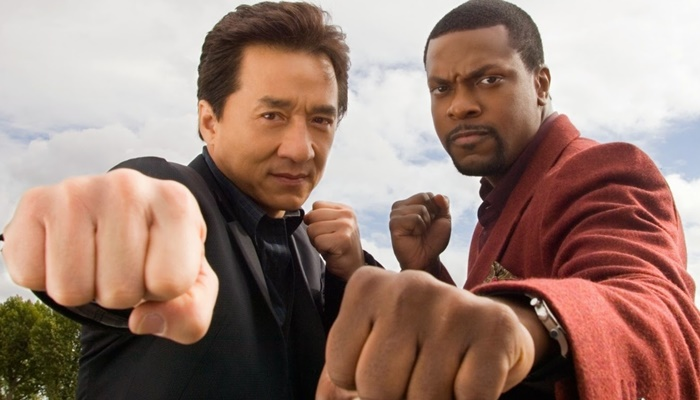"""Chris Tucker e Jackien Chan em cena de """"A Hora do Rush"""" (Foto: Divulgação)"""