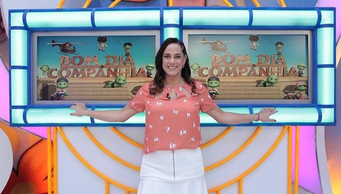 """Silvia Abravanel no """"Bom Dia & Cia"""" (Foto: Leonardo Nones/SBT)"""