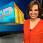 """Gloria Vanique no comando do """"SPTV"""" (Foto: Reprodução/Instagram)"""