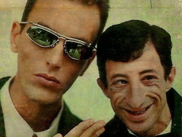 Ex-contratado de Silvio Santo dono do SBT, Rodolfo que fazia dupla com o ET no Domingo Legal. (Foto: Reprodução)