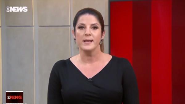 """Christiane Pelajo no """"Jornal da GloboNews Edição das 16h"""" (Foto: Reprodução/GloboNews)"""