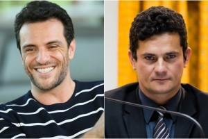 Lombardi e Sergio Moro. (Foto: Montagem/Divulgação)