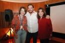 Leonor Corrêa, Ricardo Mantoanelli e Iris Abravanel. Crédito das imagens: Cauna Fernandes/SBT