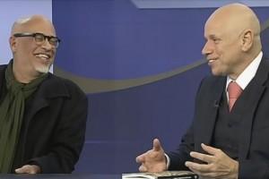 Luiz Felipe Pondé e Leandro Karnal serão os entrevistados do programa (Foto: Reprodução)