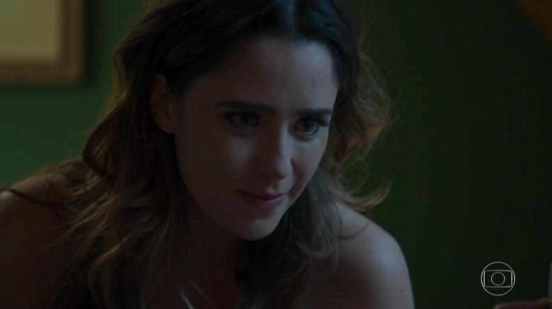 """Bruna (Fernanda Vasconcellos) em cena de """"Haja Coração"""" (Foto: Reprodução/Globo)"""