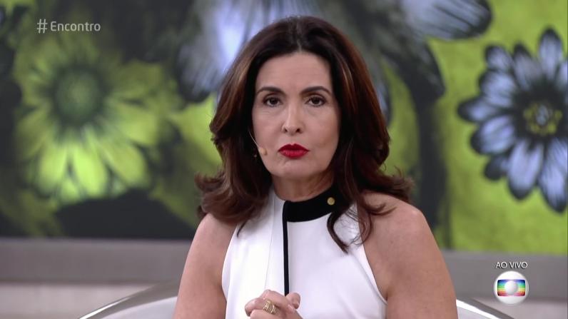 """Fátima Bernardes no """"Encontro"""" (Foto: Reprodução/Globo)"""