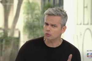 """Otaviano Costa no comando do """"Vídeo Show"""" (Foto: Reprodução/Globo)"""