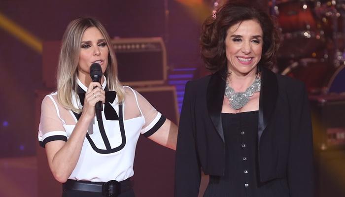 "Fernanda Lima e Marisa Orth no antepenúltimo ""SuperStar"" exibido pela Globo (Foto: Globo/Isabella Pinheiro)"