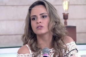 """Ana Paula Renault durante participação no """"Encontro"""" (Foto: Reprodução/Globo)"""