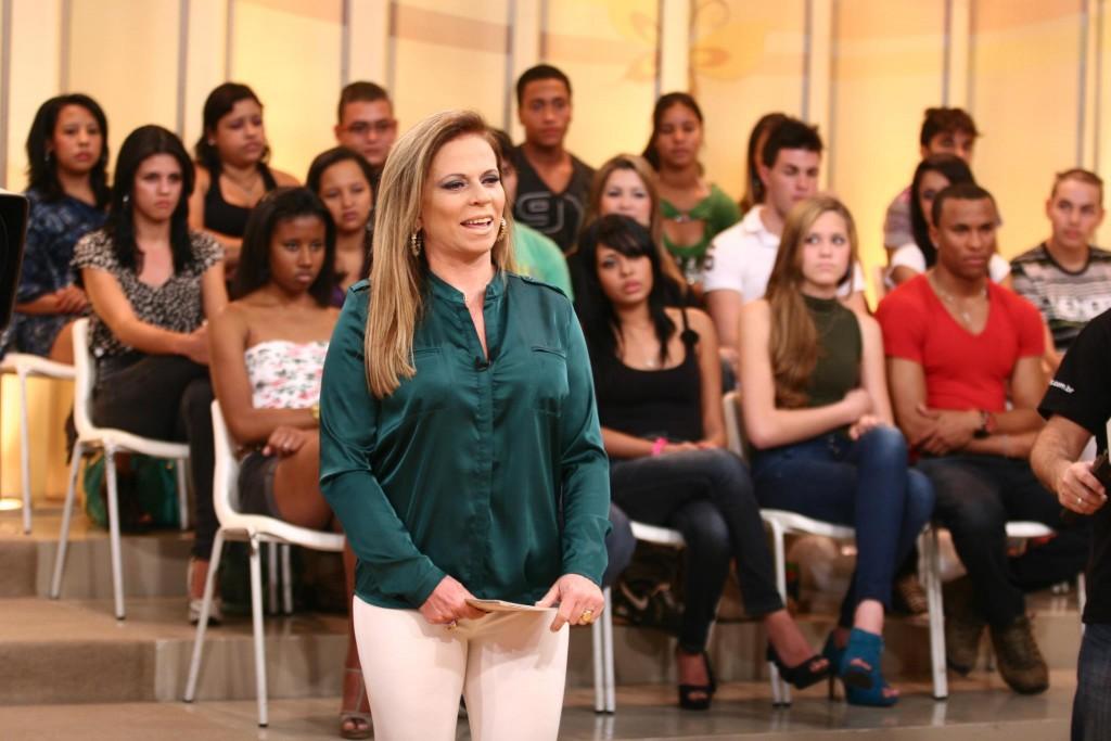 A apresentadora Christina Rocha. (Foto: Divulgação)