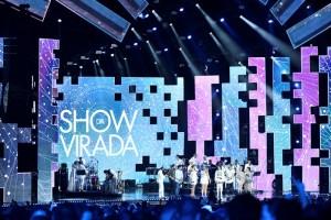 Gravação do 'Show da Virada' 2016 em Goiânia (Foto: Ramón Vasconcelos/Globo)