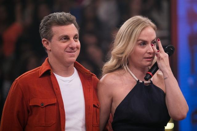 Luciano Huck e Angélica (Foto: Globo/Raquel Cunha)