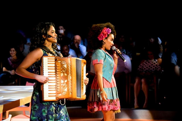 Lucy Alves e Mariene de Castro Crédito: Globo/César Alves