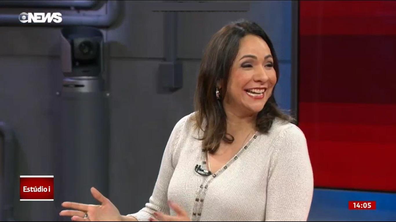 Maria Beltrão apresenta novamente o Oscar na Globo (Foto: Reprodução)