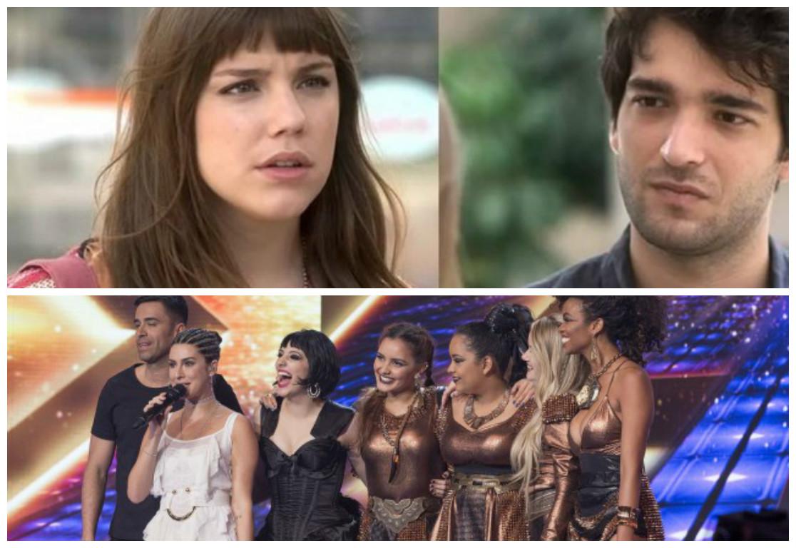 """""""A Lei do Amor"""" e """"X Factor"""" estão no """"Sobe, Desce""""! (Foto montagem)"""