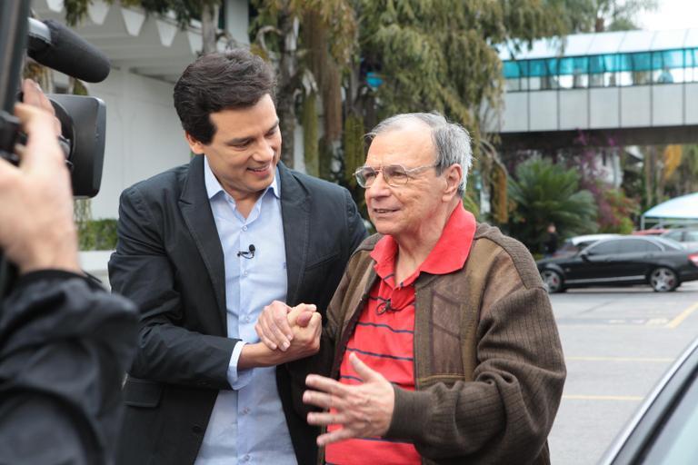 """Gil Gomes foi homenageado recentemente pelo """"Domingo Legal"""". (Foto: Divulgação)"""